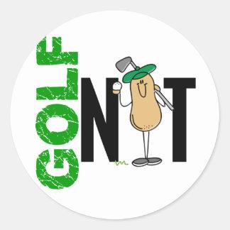 Golf Nut 1 Stickers