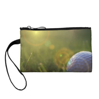 Golf on a Sunny Day Change Purse