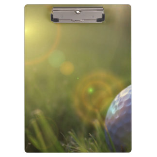 Golf on a Sunny Day Clipboards