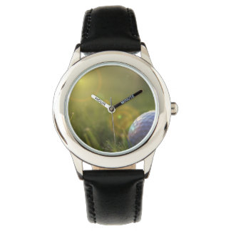 Golf on a Sunny Day Wristwatch