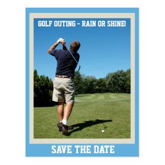 Golf Outing Postcard