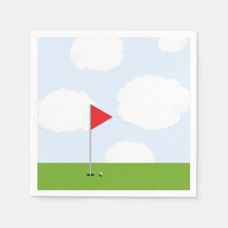 golf party paper napkin