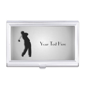 Golf Personalized Business Card Case