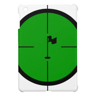 Golf Pin in the Crosshairs iPad Mini Cover