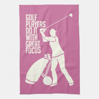 GOLF PLAYER custom hand towel