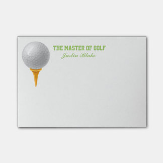 Golf Post it Notes