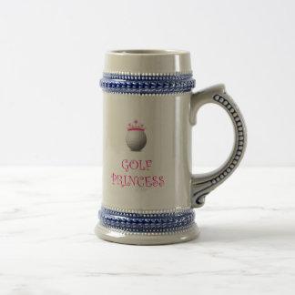 Golf Princess Beer Stein