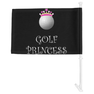 Golf Princess Car Flag