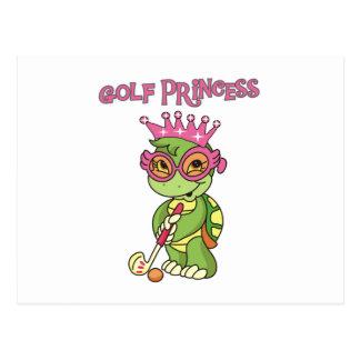 Golf Princess T-shirts and Gifts Postcard