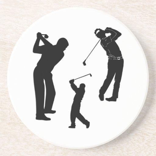 Golf Pro Beverage Coasters