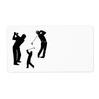 Golf Pro Shipping Label