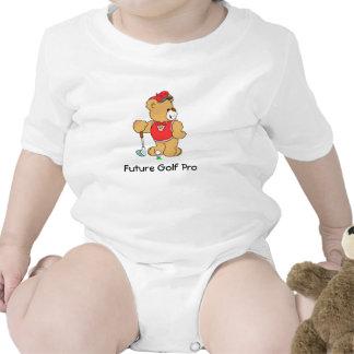 Golf Pro Teddy Bear Tshirt
