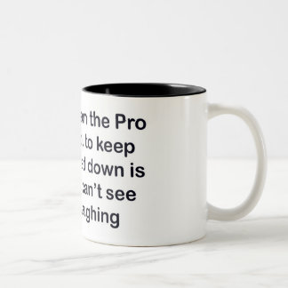 golf pro Two-Tone mug