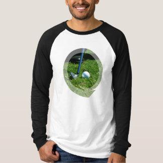 Golf Putt Long Sleeve Men's T-Shirt