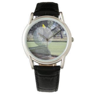 Golf Putter Ball Layered Composition, Watch