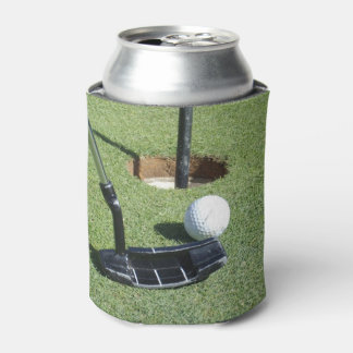 Golf Putting On The Green, Can Cooler
