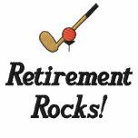 Golf Retirement Embroidered Shirt