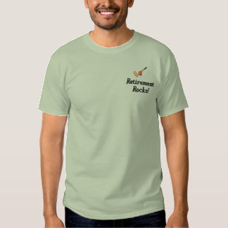 Golf Retirement Embroidered Shirt