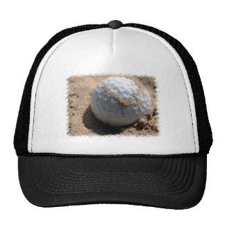 Golf Sand Pit Design Baseball Hat