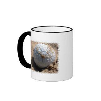 Golf Sand Pit Design Mug