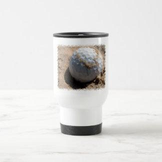 Golf Sand Pit Design Travel Mug