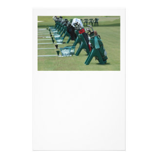 golf school 14 cm x 21.5 cm flyer