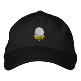 Golf Scroll Embroidered Baseball Cap