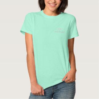 Golf Skull Bad Girls - Still Swinging - Golf Shirt Embroidered Ladies Polo