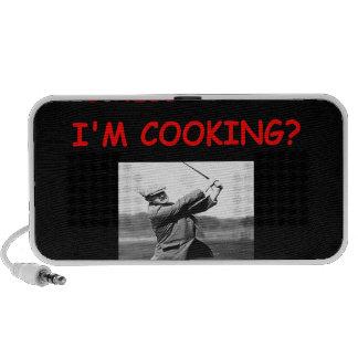 golf notebook speakers