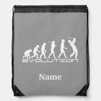 Golf Sports Personalized Drawstring Bag