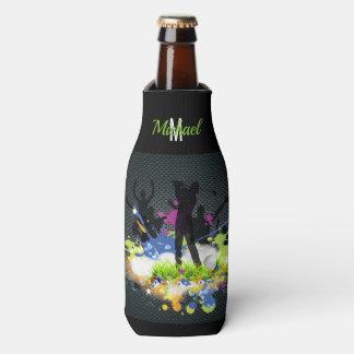 Golf Swing Supporters Custom Modern Golfer Bottle Cooler
