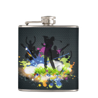 Golf Swing Supporters Custom Modern Golfer Hip Flask