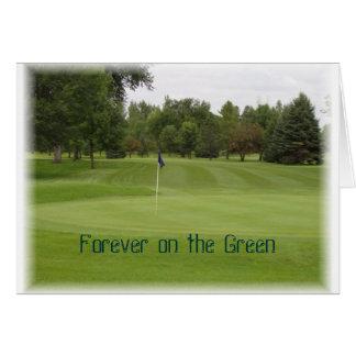 golf sympathy card