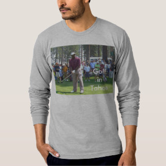 "Golf Tahoe T-Shirt ""Golfing in Tahoe Collection"""