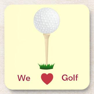 golf tee coaster.