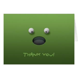 Golf Thank You! Card