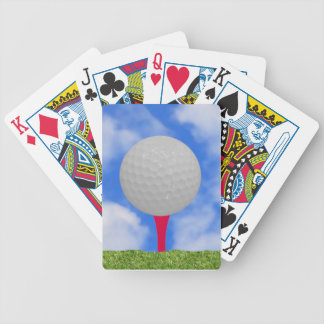Golf Theme Bicycle Playing Cards