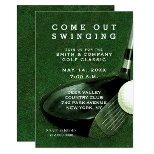 golf theme invitations announcements zazzle au. Black Bedroom Furniture Sets. Home Design Ideas