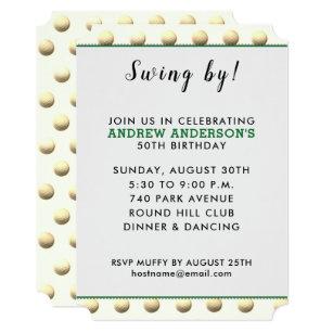 golf themed invitations announcements zazzle au