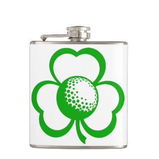 Golf Three Leaf Clover Flask