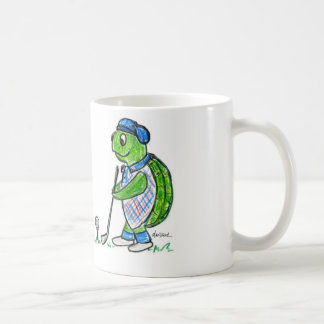 Golf Turtle Coffee Mug