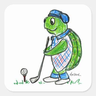 Golf Turtle Stickers