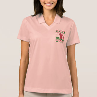 Golf Ugly Christmas Polo Shirt