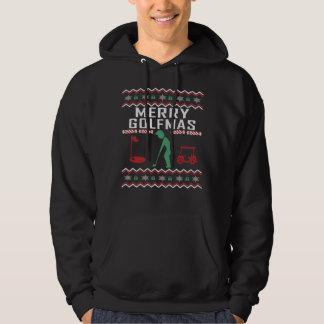 Golf Ugly Christmas Sweater Merry Golfmas