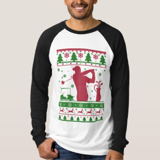 Golf Ugly Christmas T-Shirt
