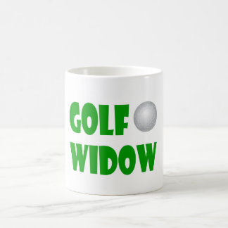 golf widow classic mug