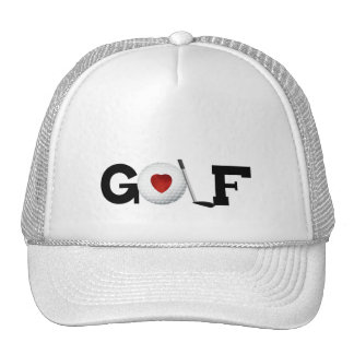 Golf With Golf Ball Tshirts and Gifts Trucker Hats