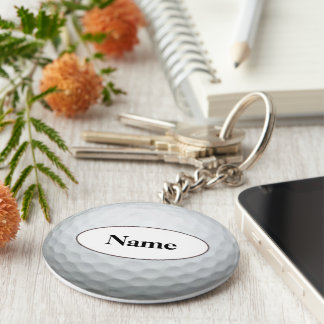 golf with your nasty on it basic round button key ring