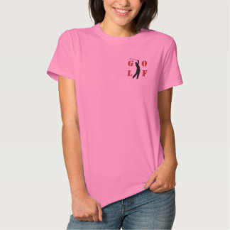 Golf Women Embroidered T-Shirt Polo