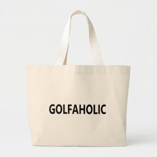 Golfaholic Tote Bags